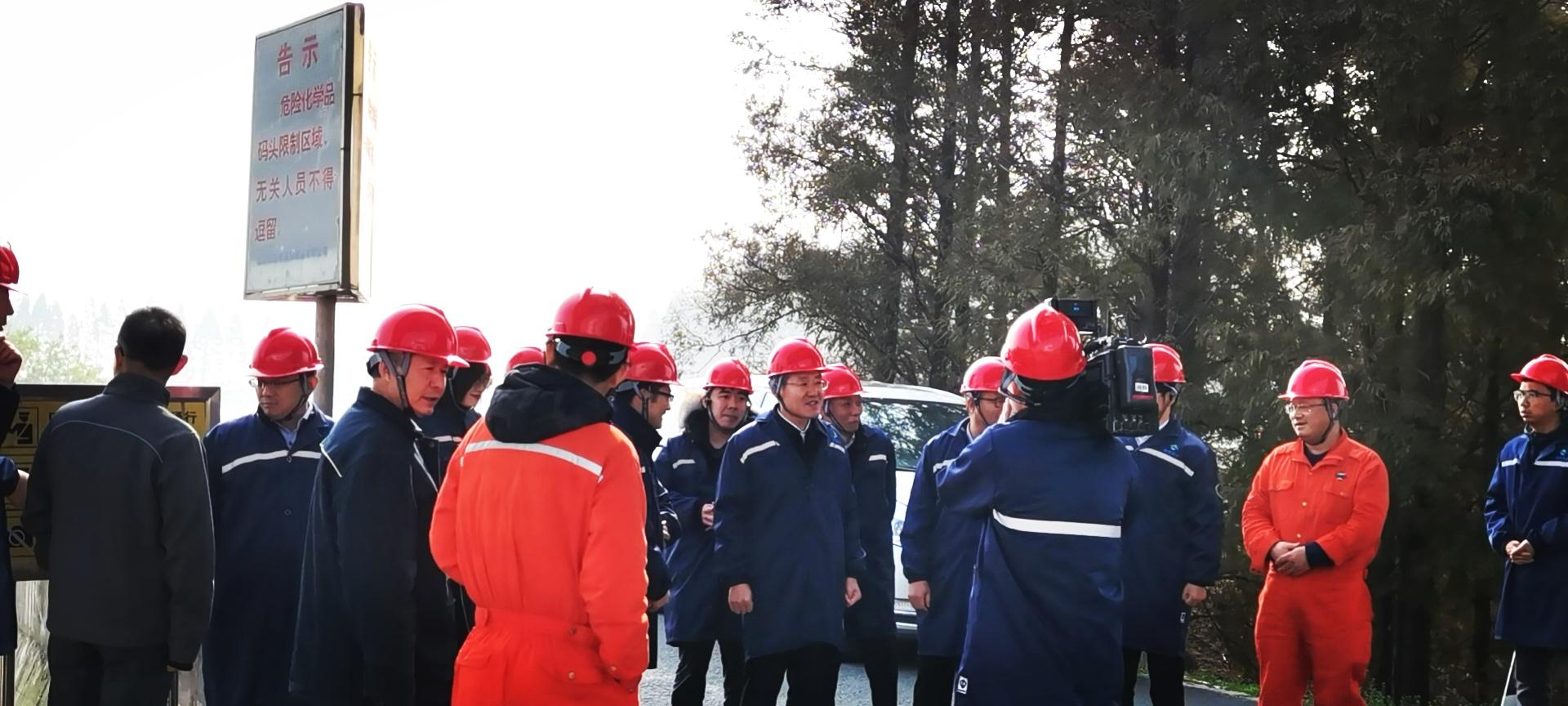 江阴市领导调研化工园区 整治提升工作